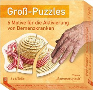 Demenz Beschäftigung Puzzles