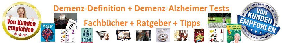 Demenz-Test++Ratgeber++Fachbücher